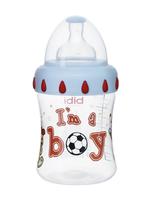 """Бутылочка Bibi с широким горлышком, PP, 250 мл, соска """"3 в 1"""" силиконовая"""