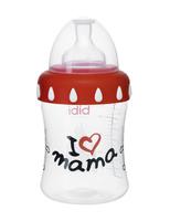 """Бутылочка Bibi с широким горлышком, 250 мл, соска """"3 в 1"""" силиконовая"""