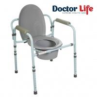 Стул туалетный со спинкой Doctor Life (арт.10595)