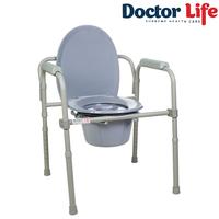 Стул туалетный складной стальной Doctor Life (арт.12627)