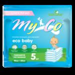 Гигиенические пеленки MyCo Eco Baby 5шт