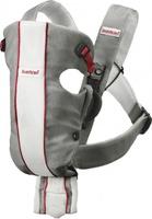 Рюкзак-кенгуру BabyBjorn Baby Carrier Original серый с белым (29010)