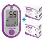Глюкометр 2B Comfort +100 тест-полосок+10 полосок