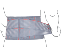 Пояс поддерживающий с ребрами жесткости Remed (арт. R3205)
