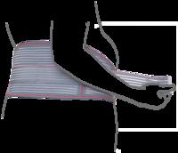 Бандаж для беременных (до- и послеродовой) эластичный Remed (арт. R4102)