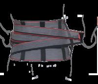 Корсет Remed поддерживающий с дополнительной фиксацией (со сменными ребрами жесткости) Remed (арт. R4204)