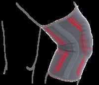 Бандаж на коленный сустав вязанный эластичный усиленный Remed (арт. R6104)
