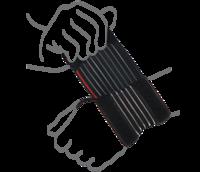Бандаж на лучезапястный сустав (облегченный) Remed (арт. R8101)