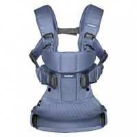 Рюкзак-кенгуру BabyBjorn Baby Carrier One Air Navy Blue Mesh синий (93003)