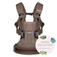 Рюкзак-кенгуру BabyBjorn Baby Carrier One Air Cocoa Mesh коричневый (93011)