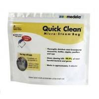 Пакеты Medela для паровой стерилизации бутылочек, раструбов и т.п. в микроволновой печи. 5 шт.
