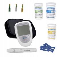 Глюкометр BeneCheck Plus 3 в 1 для измерения холестерина, мочевой кислоты и глюкозы в крови