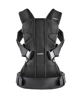 Рюкзак-кенгуру Babybjorn Baby Carrier One Mesh черный (93025)