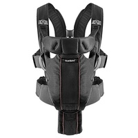 Рюкзак-кенгуру Babybjorn Baby Carrier Miracle Mesh (96002) черный