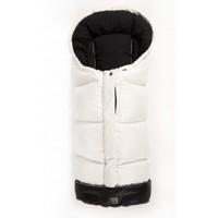 Тёплый  пуховый конверт Kaiser DOWWNY  размеры  105 х 48 см, (цвет бело-черный)