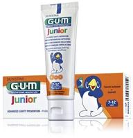 Зубная паста-гель для детей 7-12 лет GUM JUNIOR TUTTI FRUTTI, 50 мл