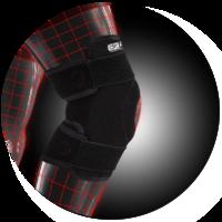 Стабилизирующий бандаж Dr. Frei на коленный сустав. Регулируемый (арт.S6035)