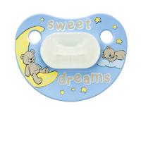 Пустышка силиконовая для сна (ночная) Bibi Sweet Dreams blue