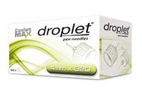 Иглы для инсулиновых шприц-ручек Droplet, 4 мм