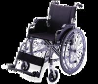 Инвалидная коляска механическая с фиксированной подставкой для ног (арт. KY908A)