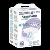Подгузники для взрослых MyCo Standard размер L3 10 шт