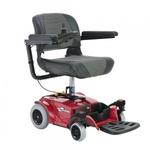 Кресло инвалидная коляска с электроприводом OSD «RIO CHAIR»красная
