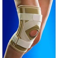 Бандаж на колено с силиконовым кольцом