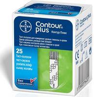 Тест-полоска CONTOUR PLUS №25 +Глюкометр CONTOUR PLUS