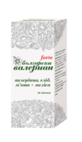 Болгарская валериана форте, 60 таблеток