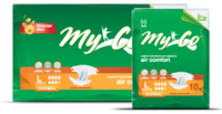Подгузники для взрослых MyCo Normal 30 шт MyCo Normal (размер S 64-89 см) 30 шт