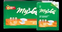 Подгузники для взрослых MyCo Normal 10 шт MyCo Normal (размер S 64-89 см) 10 шт